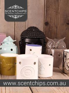 a great range of unique ceramic burners from Scentchips®  http://www.scentchips.com.au/shop/scentchips-scentburners