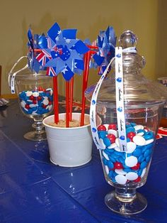 A public holiday is always a great excuse to get together with family and friends so I thought I'd take it one step further. Kids Party Decorations, Party Themes, Party Ideas, Grill Party, Bbq Party, Student Birthdays, First Birthdays, Australia Day Celebrations, Australian Party