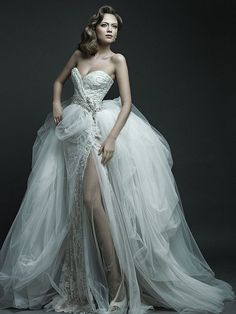 A Fairy Tale Wedding Dress Collection Inspired By Russian Aristocratic Style | Flickr - Photo Sharing!