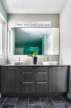 A 5-light led bathbar from the Olson collection