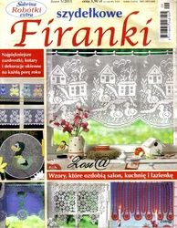 Crochet curtains ---  Sabrina Robotki extra №5 2011 Szydelkowy Firanki