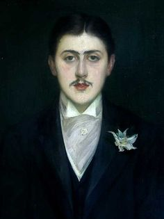 Jacques-Emile Blanche: Marcel Proust, 1892. Oil on canvas. Musee D'Orsay.