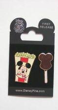 DISNEY PIN-2PIN SET (MICKEY) BOX OF POPCORN & ICE CREAM