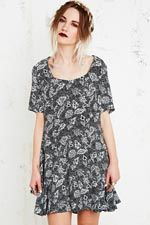 Staring at Stars Cross Back Swing Dress at Urban Outfitters
