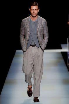 Giorgio Armani Spring 2016 Menswear Fashion Show: Complete Collection - Style.com