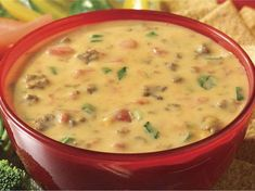 Our Ro*Tel and Velveeta Queso Dip is the ultimate party snack, whether you're rallying at a tailgate or hosting a get-together. Discover more queso fun now. Spicy Recipes, Dip Recipes, Copycat Recipes, Mexican Food Recipes, Appetizer Recipes, Cooking Recipes, Crockpot Recipes, Yummy Recipes, Mexican Dishes