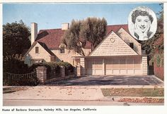 Barbara Stanwick's home, Holmby Hills, Los Angeles, California