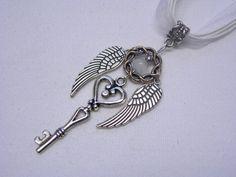 Enchanted Love Inspiration Flying Key to My by boricuatreasures, $7.99