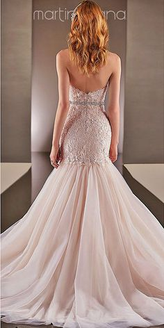 Mermaid Wedding Dresses From Top World Designers ❤ See more: http://www.weddingforward.com/mermaid-wedding-dresses/ #weddings