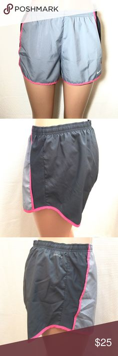 Nike Running Shorts Built in briefs Elastic waistband with drawstring Reflective Swoosh Mesh side panels Inside back pocket. ♦️No trades, the price is firm unless bundled. Nike Shorts