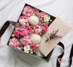 François J. Interiors www.interiordesignbyfrancois.com Flower Box Gift, Flower Boxes, My Flower, Make A Gift, Crafts To Make, Party In A Box, How To Preserve Flowers, Valentine's Day Diy, Valentines Diy