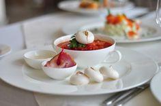Borsh without garlic merenghe is not a borsh