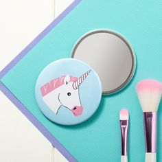 Miss Unicorn Pocket Mirror comes from the woodland creatures range. This 78 mm…