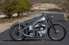 Harley-Davidson WL custom by Dark Star Kustoms #harleydavidsonbobbersratbikes