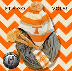 LET'S GO VOLS! Gameday gear by The Honour Society. Stand out from the crowd!!!