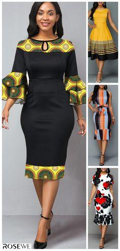 Dresses For Women Short African Dresses, Latest African Fashion Dresses, African Inspired Fashion, African Print Dresses, African Print Fashion, Ankara Fashion, Africa Fashion, African Prints, African Fabric