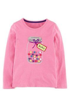NWT Gymboree CHERRY PIE Ivory Big Cherries Rhinestones S//S T-shirt Top