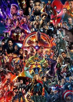 Mcu Movie Collage Poster Avengers Endgame Iron Man Thor Spider-Man Us - Marvel Collage Poster, Movie Collage, Poster Art, Iron Man Poster, Disney Collage, Fan Poster, Canvas Poster, Hero Marvel, Marvel Fan