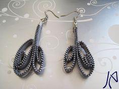 Jingling Art: Orecchini Zip!!!