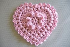 Ravelry: buttercup11's ZJ - Grandma's Heart - had to search for the actual patter to download, but it is free! #crochet G hook