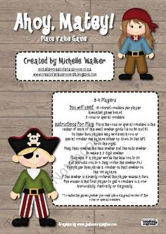 Creative-Classroom. Ahoy Matey! Place Value Game