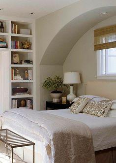 white bedroom #MasterBedroomDesign