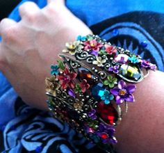 Cuff bracelet that I found this past weekend. Will be wearing this at the wedding. #Wedding #Jewelry