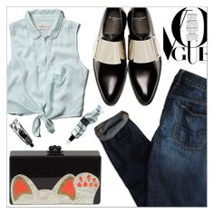 """""""OOTD 1104.16"""" by martso ❤ liked on Polyvore featuring American Eagle Outfitters, Abercrombie & Fitch, Givenchy, Edie Parker, Aesop, outfit, look, ootd and fashionset"""