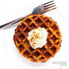 Keto Chaffles Recipe Ways! Healthy Low Carb Recipes, Low Carb Keto, Keto Recipes, Dessert Recipes, Dash Recipe, Almond Flour Pizza Crust, Waffle Maker Recipes, Low Carb Waffles, Almond Flour Recipes