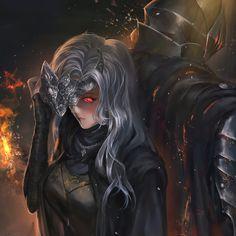 Dark Fantasy Art, Fantasy Girl, Fantasy Artwork, Female Character Inspiration, Character Art, Dark Souls Fire Keeper, Dark Souls Art, Percy Jackson Fan Art, Beautiful Anime Girl
