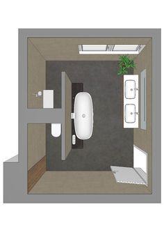 Bathroom decor for your master bathroom remodel. Discover bathroom organization, bathroom decor a few ideas, bathroom tile tips, bathroom paint colors, and more. Bathroom Design Small, Bathroom Layout, Bathroom Interior, Bath Design, Design Bedroom, Tile Design, Wood Design, Kitchen Design, Bad Inspiration