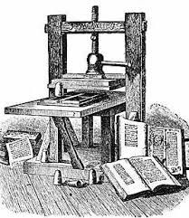 parts of an iron printing press - Google Search