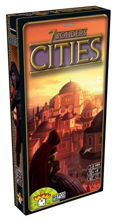 Leaders Anniversaire Paquet Expansion par Asmodee Games 7 Wonders Board Jeu
