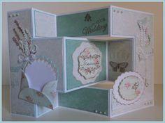 Card wedding shabby