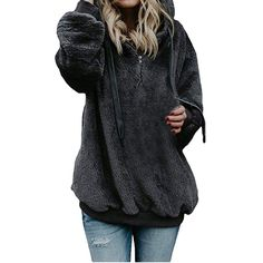 Pongfunsy Womens Pullover Long Sleeve Sweatshirt Casual High Neck Button Blouse Fashion Color Block Warm Winter Tops