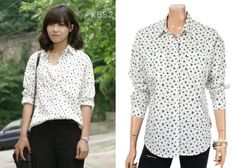 "Jung Eun-Ji 정은지 in ""Trot Lovers"" Episode 8.  Le Shop Shirt #Kdrama #TrotLovers 트로트의연인 #JungEunJi"