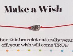 Owl Bracelet Make a Wish Owl Bracelet Tibetan Silver Charm Make A Wish, How To Make, Owl Bracelet, Wish Bracelets, Silver Charms, Bracelet Making, Fundraising, Charmed, Unique Jewelry