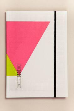 Pulp Notebook 613 - love the colours Font Design, Graphic Design Typography, Graphic Design Illustration, Layout Design, Branding Design, Packaging Design, Design Thinking, Graphic Pattern, Wordmark