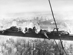 Sleeping above Manhattan