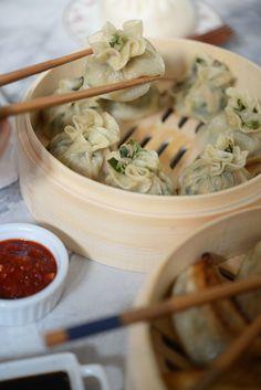 entertaining idea: dumplings + cocktails