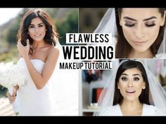Pin for Later: 12 YouTube Tutorials That Will Convince You to DIY Your Bridal Makeup Sazan Hendrix's Modern Classic Look