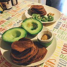 Pre PortugalFit com ela  questnutrition protein pancakes @mws.pt #preworkout #onaquesteur #onaquest #cheatclean ( # @inesgetshealthy)