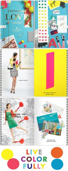 my dream world would be living in a kate spade ad.