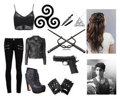 """""""Hunter Hale"""" by sara598d ❤ liked on Polyvore featuring Allurez, Wet Seal, Paige Denim, Seychelles and MuuBaa"""