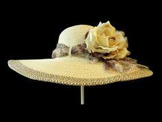 Womens Kentucky Derby Hat Spring Fashion by IfTheHatFitsByJackie, $48.00