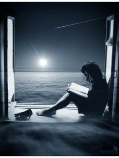 reading by moonlight