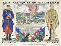 La première bataille de la Marne se déroule début septembre 1914 et permet aux armées franco-anglaises de repousser l'inquiétante avancée des Allemands sur Paris. La seconde bataille de la Marne, elle, correspond au début de la contre-offensive alliée en date du 18 juillet 1918.