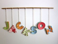 These are super fun and super easy to make! Easily customize the colors and designs to fit your name, your room, or someone elses. Easily create other signs for special occasions, like Merry...