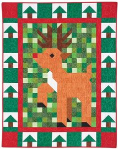 All of QM's Patch Pals kits are on sale today, including the Jingle Patch Pal Quilt Kit. Hardly ever happens!