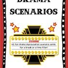 42 fun drama improvisation scenario cards to use when your students need a break or when you need a time filler. Students act out a given scenario ...
